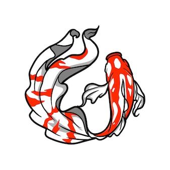 Koi fisch abbildung