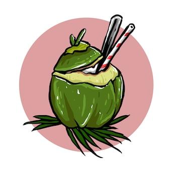 Kokosnussgetränk