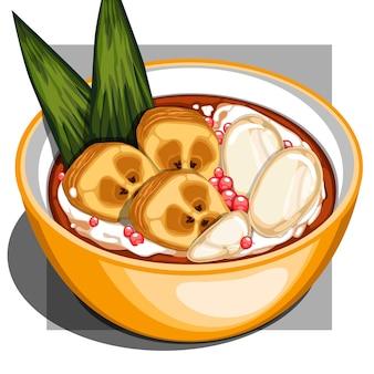 Kolak pisang (bananenkompott)