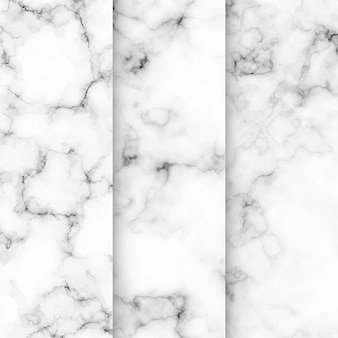 Kollektion aus marmor texturmuster