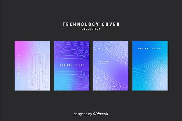 Kollektion mit farbverlaufstechnologie