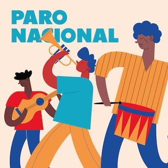 Kolumbianischer nationalstreik