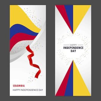 Kolumbien glücklicher unabhängigkeitstag