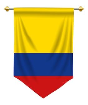 Kolumbien wimpel