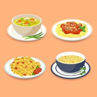 Komfort-food-konzept