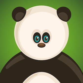 Komischer panda