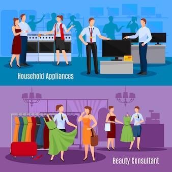 Kommunikation von verkäufern mit kunden