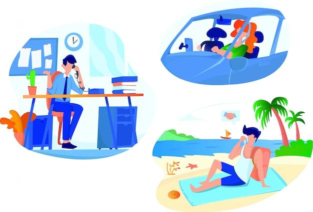 Kommunikations-illustration