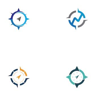 Kompass-icon-set