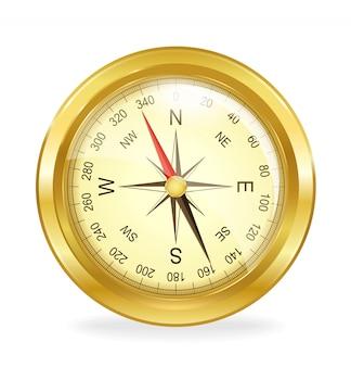 Kompass. vektorobjekt