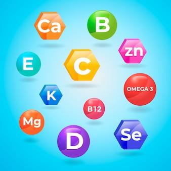 Komplex essentieller mineralien