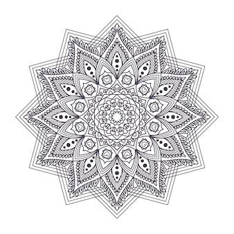 Kompliziertes mandala-design