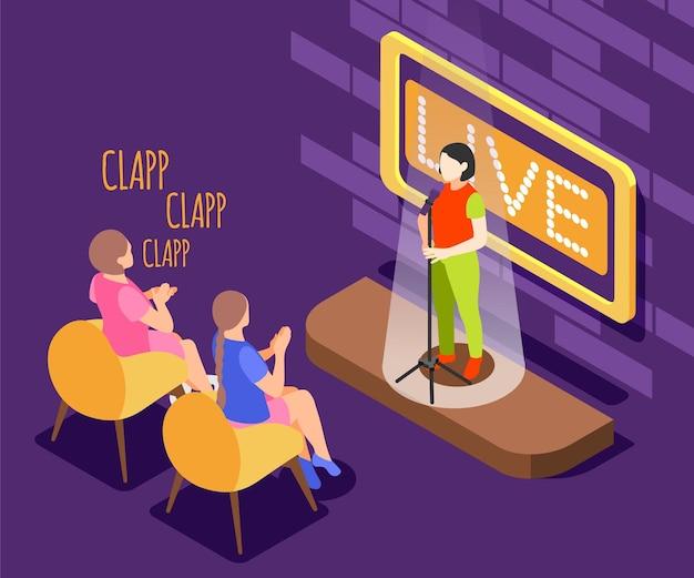 Komposition der quiz-tv-show mit wettbewerbspreis
