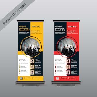 Konferenz-roll-up-banner