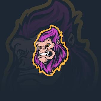 Kong maskottchen illustration