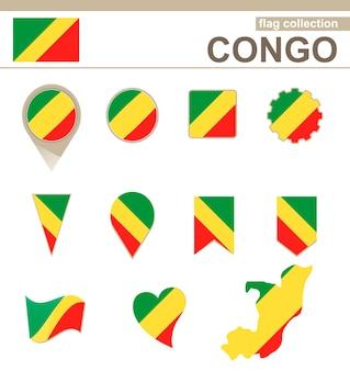 Kongo-flaggen-kollektion, 12 versionen