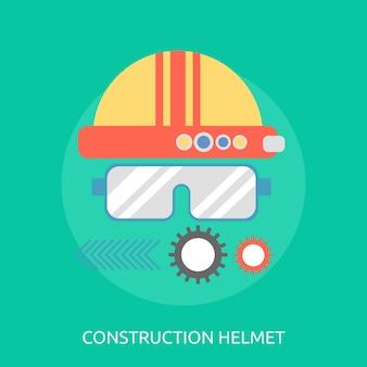 Konstruktion helm konzeptionelles design