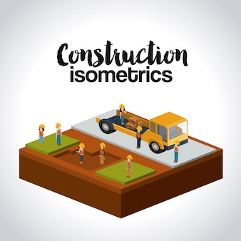 Konstruktion isometrie-design
