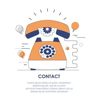 Kontakt support-symbol