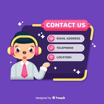 Kontaktiere uns