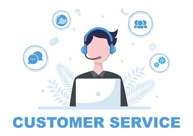 Kontaktieren sie uns kundendienst abbildung