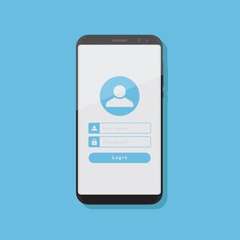 Konto auf smartphone