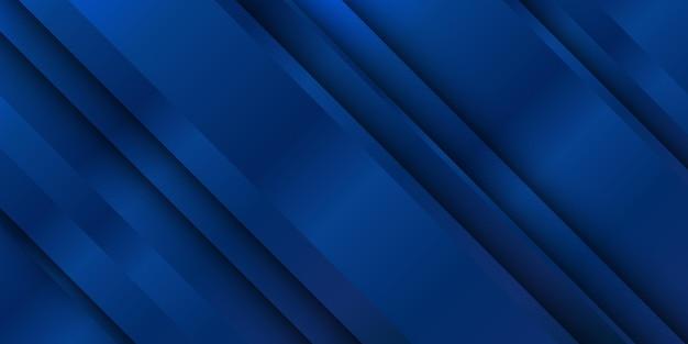 Kontrastreiche blaue und weiße glänzende streifen. abstrakter technischer hintergrund