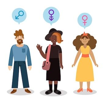 Konzept der geschlechtsidentität