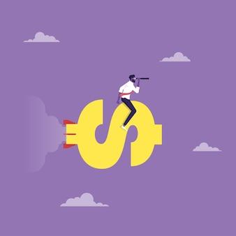 Konzept der leistungsbewertung unternehmensleistung geschäftsziel