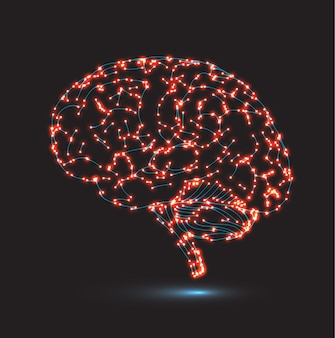 Konzept der menschlichen intelligenz