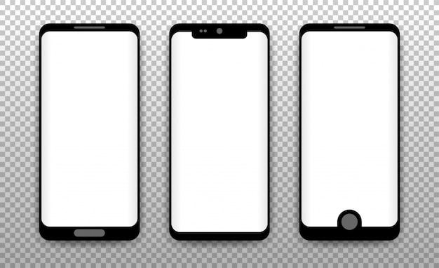 Konzept der modernen telefone