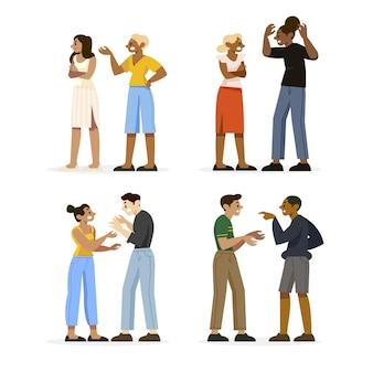 Konzept der paarkonflikte