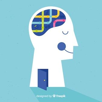 Konzept der psychischen gesundheit