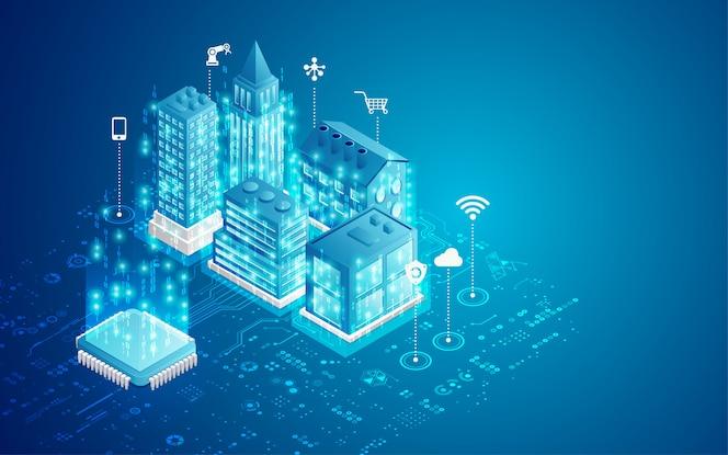 Konzept der smart city