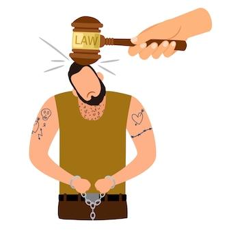 Konzept der strafrechtlichen bestrafung