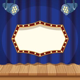 Konzept der unterhaltungsshow