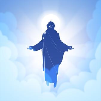 Konzept des himmelfahrtstages
