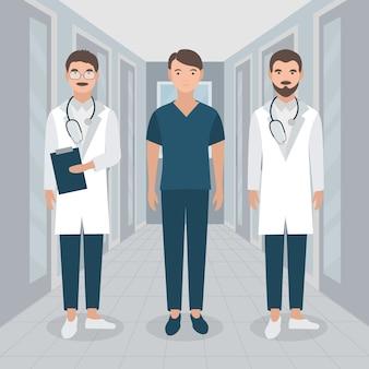 Konzept des medizinischen fachmannteams