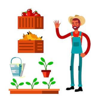 Konzept des ökologischen landbaus