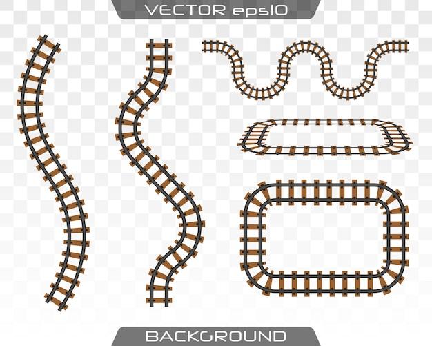 Konzept des zugtransports, metro, eisenbahn.