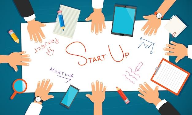 Konzept für bildung oder digitales marketing