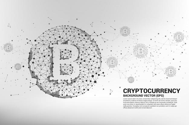 Konzept für die kryptowährungs-technologie.
