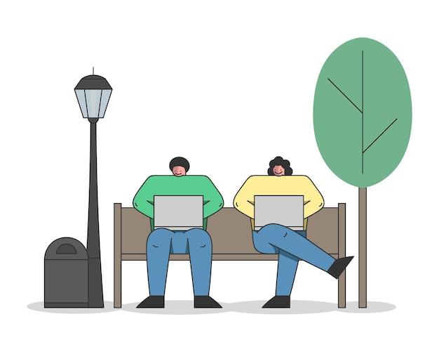 Konzept für freiberufliche arbeit, brainstorming und selbstständigkeit.