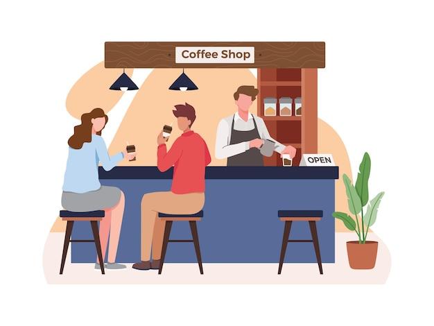 Konzept für kleinunternehmen und selbstständigkeit