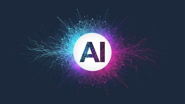 Konzept für künstliche intelligenz und maschinelles lernen