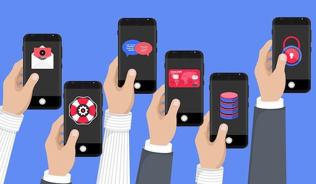 Konzept für mobile anwendungen