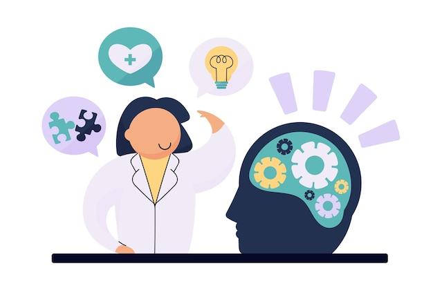 Konzept für psychische gesundheit