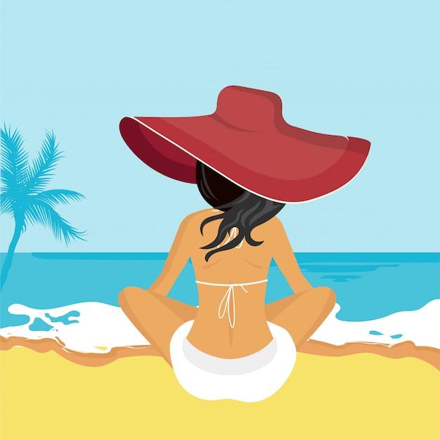 Konzept für urlaub, urlaub und reisen, sommerzeit