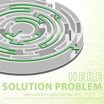 Konzept lösung problem