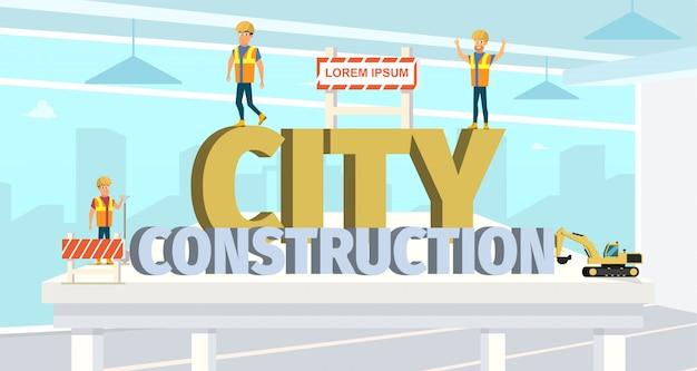 Konzept-moderne stadtbau-gebäude